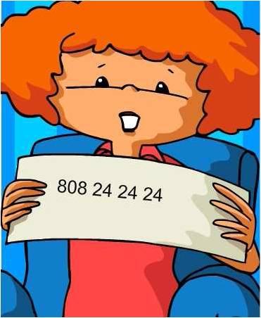 808 24 24 24 - Atendimento 24h para sintomas de gripe A