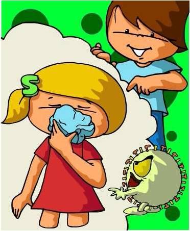 Prevenção da gripe A- Espirrar sempre para um lenço de papel