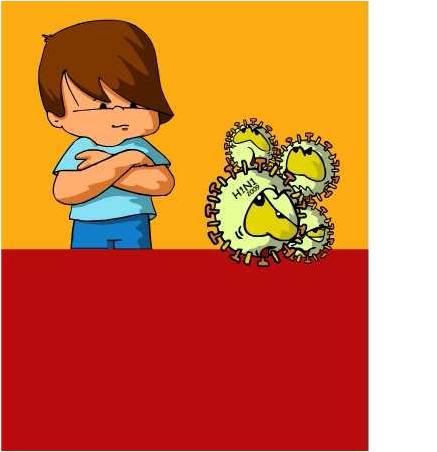 Vitória perante o virus da gripe A - H1N1