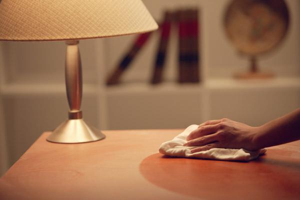 manter casa limpa