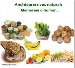 Anti-depressivos naturais melhoram o humor